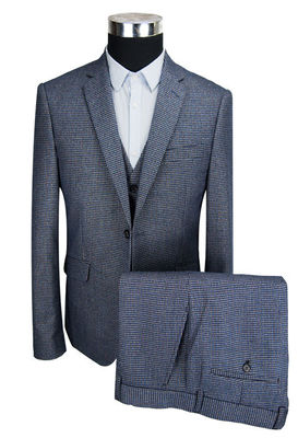 China MG3004 Mens 3 Pieces Suit Formal Business Breathable Anti Wrinkle Custom Size supplier