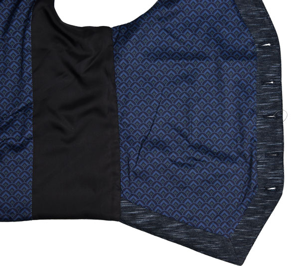 Knit Fabric Mens Tailored Vest All Season Navy Mel Breathable 70% Cotton 30% Polyester